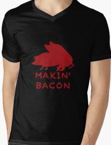 Bacon Lovers Mens V-Neck T-Shirt