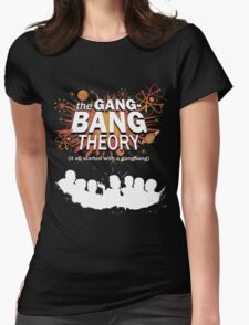 """""""Die Gangbang Theorie"""" Womens Fitted T-Shirt"""