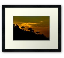 Sunset for the Heart Framed Print