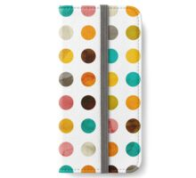 Autumnal Polka-dots colors iPhone Wallet/Case/Skin