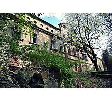 Abandoned castle Photographic Print