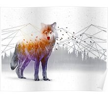 A Wilderness Within / Wolf Poster