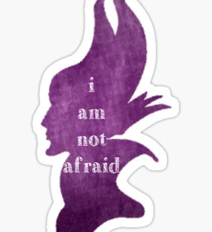 Not Afraid Sticker