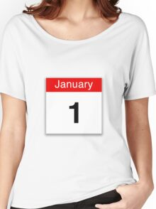 January 1st Women's Relaxed Fit T-Shirt