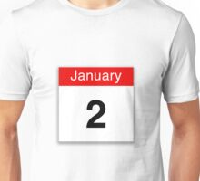 January 2nd Unisex T-Shirt