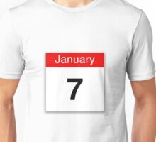 January 7th Unisex T-Shirt