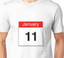 January 11th Unisex T-Shirt