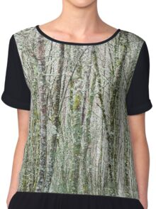 Mossy trees  Chiffon Top