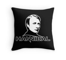 Hannibal - bust Throw Pillow