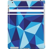 Low Poly Blue-Scale iPad Case/Skin