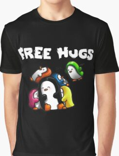 Free Hugs Graphic T-Shirt