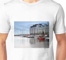 Boats in Galway Bay, Ireland Unisex T-Shirt
