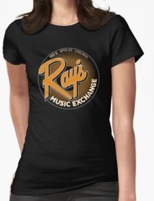 Ray's Music Exchange - Orange Variant Womens Fitted T-Shirt