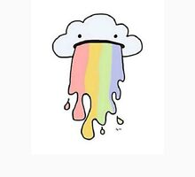 Rainbow Puke Unisex T-Shirt