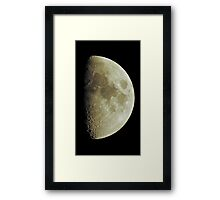 Dark of the Moon Framed Print