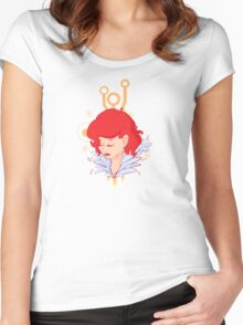 Red - Transistor Women's Fitted Scoop T-Shirt