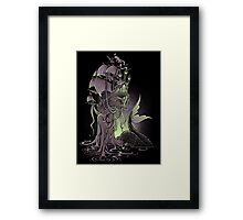 Sailors Beware Framed Print