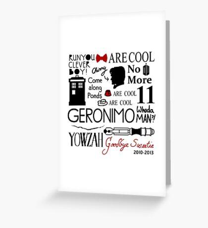 YOWZAH Greeting Card