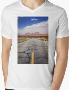 Monument Valley Mens V-Neck T-Shirt