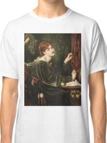 Dante Gabriel Rossetti - Veronica Veronese , Portrait Of A Woman Classic T-Shirt