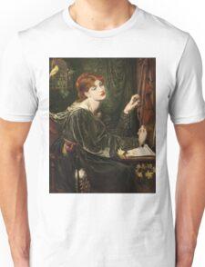 Dante Gabriel Rossetti - Veronica Veronese , Portrait Of A Woman Unisex T-Shirt