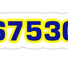8675309 Sticker