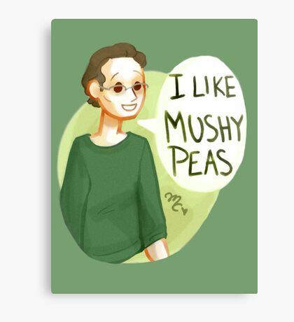 I like mushy peas - V2 Canvas Print