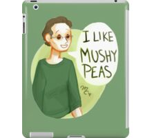 I like mushy peas - V2 iPad Case/Skin