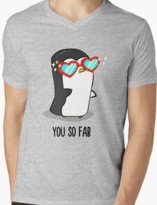 Fabulous Penguin! Mens V-Neck T-Shirt