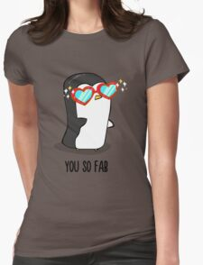 Fabulous Penguin! Womens Fitted T-Shirt
