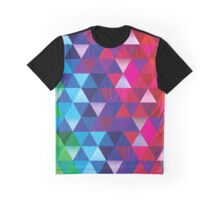 Triangle Spectrum Graphic T-Shirt