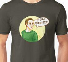 I like mushy peas Unisex T-Shirt