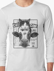 Cat Cow Energy Show Flyer Long Sleeve T-Shirt