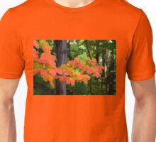 Impressions of Forests - The First Red Maple Leaves Unisex T-Shirt