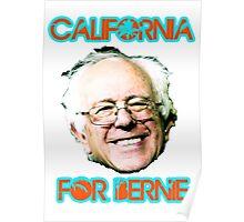 California for Bernie Poster