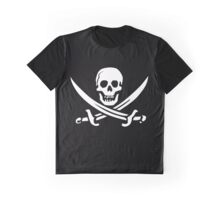 Pirate - Jolly Roger Graphic T-Shirt