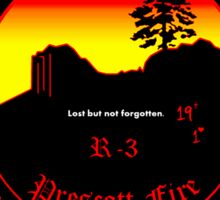 Prescott Granite Mountain Hotshot Memorial Sticker Round Sticker
