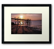 Pier at Holywood, Belfast Lough Framed Print