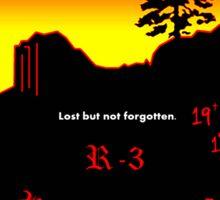 Prescott Granite Mountain Hotshot Memorial Sticker Sticker