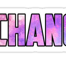 Chance 3 Galaxy Sticker