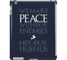 Peace (blue) iPad Case/Skin