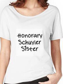 Honorary Schuyler Sister Women's Relaxed Fit T-Shirt