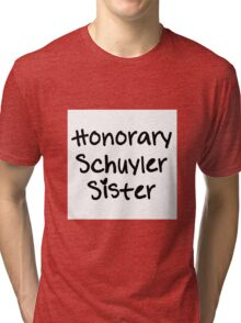 Honorary Schuyler Sister Tri-blend T-Shirt
