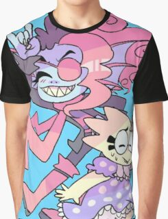 Undyne and Alphys Cute Graphic T-Shirt