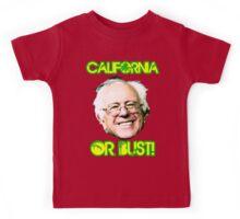 California or Bust Kids Tee