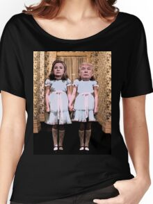 Hillary and Trump twins. Women's Relaxed Fit T-Shirt
