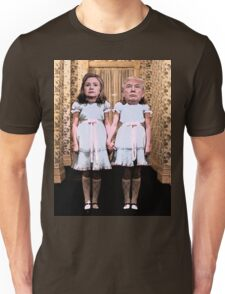Hillary and Trump twins. Unisex T-Shirt