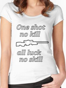 CSGO AWP PRO Women's Fitted Scoop T-Shirt