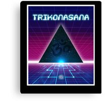 Space Age Triangle Canvas Print