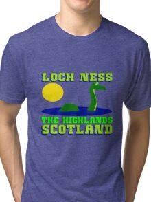 LOCH NESS  Tri-blend T-Shirt